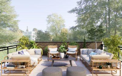 3 modèles de clôture de jardin pour un extérieur contemporain